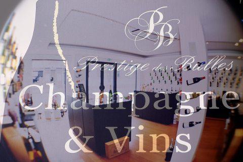 Boutique de champagne Prestige des bulles